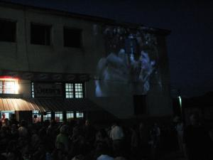 9 Movie projection Mid-village Elisabeth